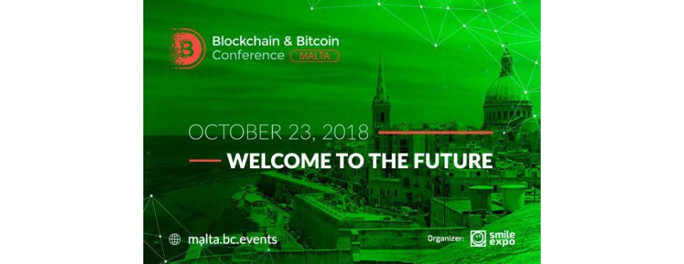 bitcoin ir blockchain konferencija malta 0 17 btc iki usd
