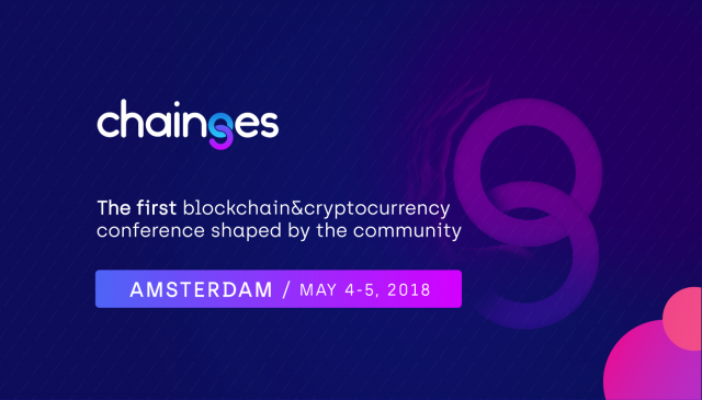 Leading blockchain companies, specialists and startups will meet under one roof in Amsterdam, May, 4-5