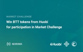 Huobi will reward with BTT tokens all voters, who guess TOP winners of pre-Market Challenge