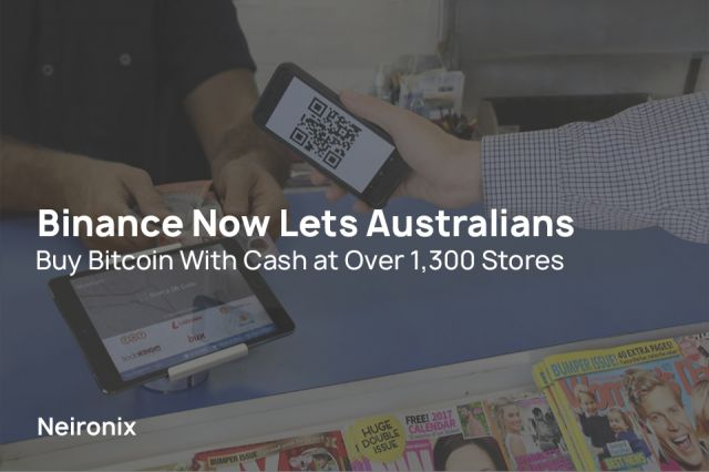Binance Now Lets Australians Buy Bitcoin With Cash At Over 1 300 -