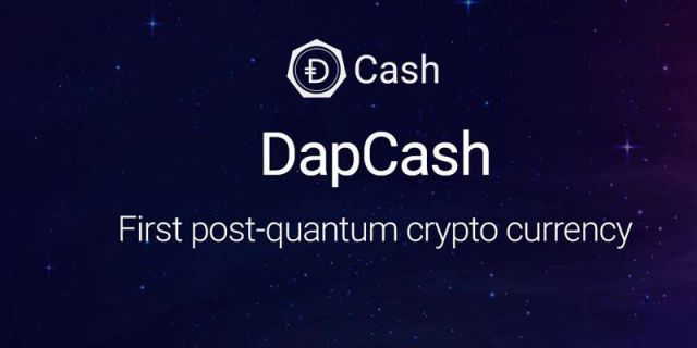 The first quantum-resistant cryptocurrency DapCash which will survive Quantum Apocalypse is developed