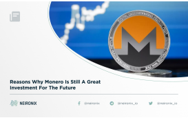Reasons Why Monero Is Still A Great Investment For The Future