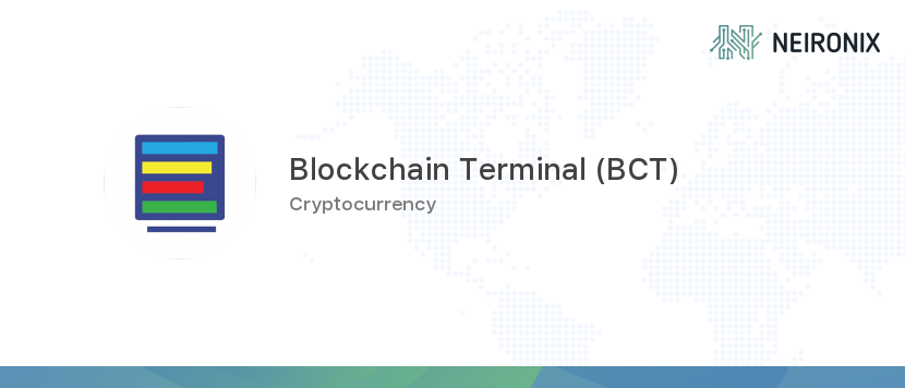 Blockchain Terminal price - 1 BCTT to usd value history