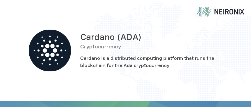 cardano cryptocurrency price history