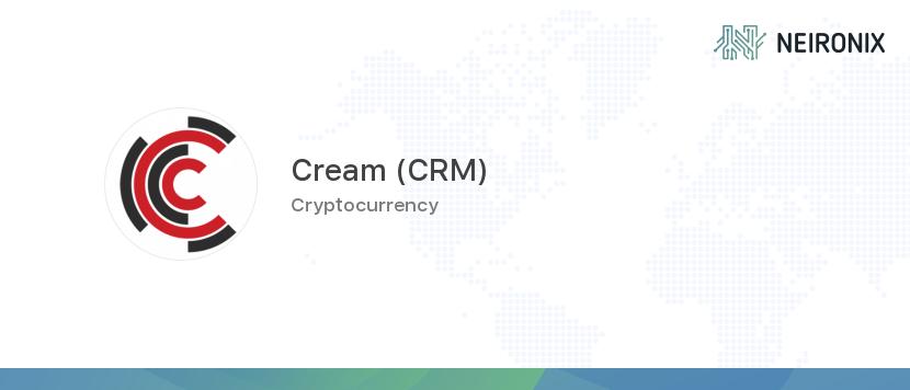cream cryptocurrency price