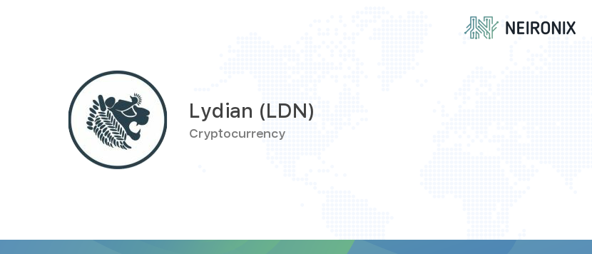 lydian coins cryptocurrency