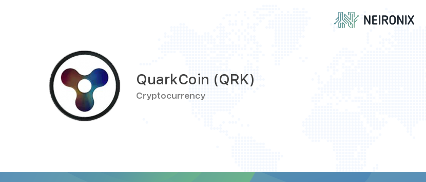 Quarkcoin Price 1 Qrk To Usd Value History Chart How Much Is A Quarkcoin Worth Today Neironix