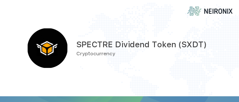 SPECTRE Dividend Token description
