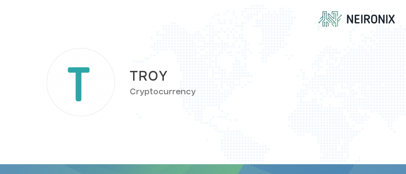 troy trade cryptocurrency