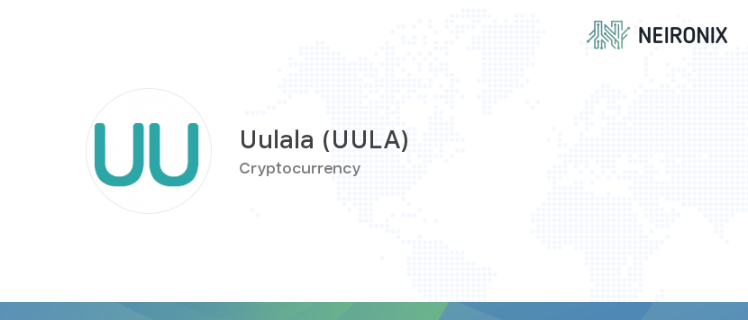 Uulala price - 1 UULA to usd value history chart - how much is a Uulala worth today? | Neironix
