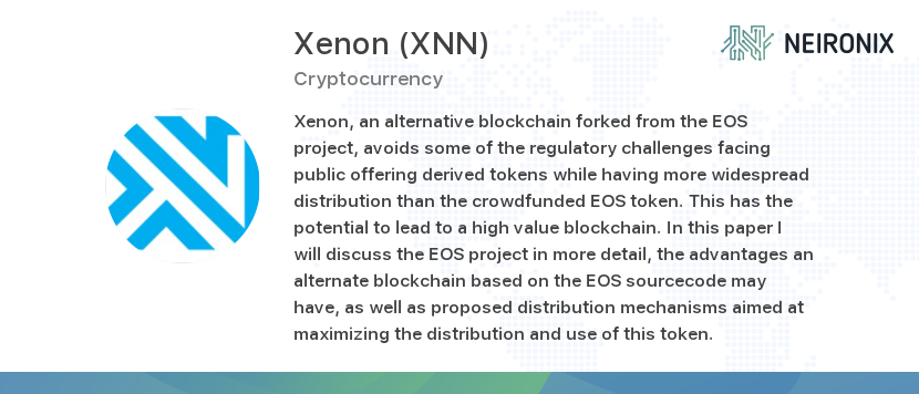 buy xenon cryptocurrency