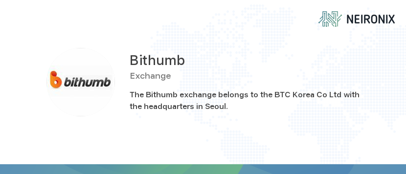 Reviews | Bithumb crypto exchange - reviews and overview | Neironix