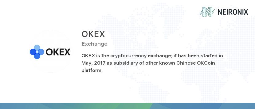 scambi crypto okex